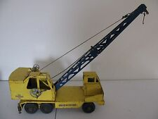 1950's Nylint Michigan T-24 Clark Equip Mobile Crane Truck Parts / Restore