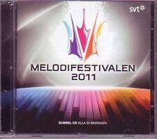 2 CD Eurovision 2011 Suède : Préselections  Melodifestivalen 2011