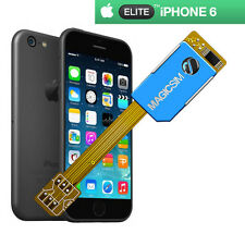 MAGICSIM ELITE per iPhone 6-Dual SIM Card Adapter-Regno Unito