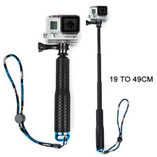 Extendable Pole Hand Grip Monopod Selfie Stick For GoPro Hero 4 3+ 3 2 1 Camera