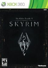 The Elder Scrolls V: Skyrim - Xbox 360 WITH CASE