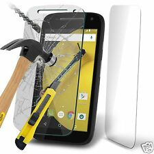 100% Genuine Tempered Glass Film Screen Protector for Motorola Moto E 2nd Gen