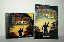 JAGGED ALLIANCE DEADLY GAMES GIOCO USATO PC CD ROM VERSIONE ITALIANA ML3 48644
