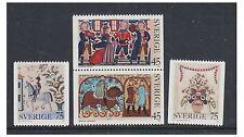 Sweden - 1973, Christmas set - MNH - SG 763/6
