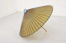 Japan BANGASA SAMURAI Umbrella Bamboo Paper HABUTAE Practical Item F/S 612y09