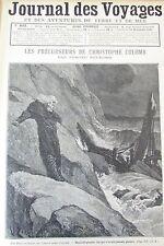 JOURNAL DES VOYAGES N° 803 de 1892 AVENTURES EN MER EMPEREUR D ANNAM THAN THAI