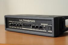 Behringer Ultrabass BXR1800H 180 Watt Bass Amplifier Head w/ FS112B Footswitch