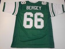 Bill Bergey UNSIGNED CUSTOM Green Jersey - 2XL