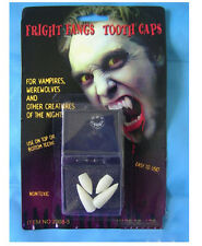 Bloodcurdling cool Vampire Werewolves Fangs Teeth Tooth Fit Hallowmas Party