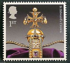 "The Crown Jewels ""St Edward`s Crown"" illustrated on 2011 Stamp - U/M"