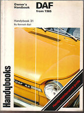Daf 32,33,44,55,66,1300 From 1965 Autobooks Owners Handbook