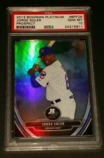 2013 Bowman Platinum #BPP28- Jorge Soler Rookie Card! PSA GEM MINT 10!