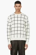 NWT Authentic T by ALEXANDER WANG 100% Cotton Knit Sweater XL