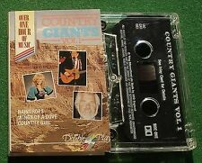 Country Giants Vol 1 Faron Young Roger Miller + Double Play Cassette Tape TESTED