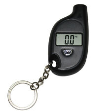 Hotsale Car Auto LCD Digital Tyre Tire Pressure Gauge Keychain Black New 1PC