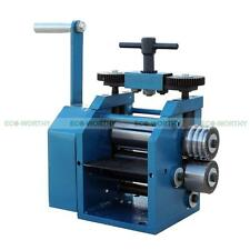 ECO Flat Square & Half Round Combination Rolling Mills 130mm with Gear Reduction