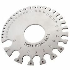 Sheet Metal Gage Thickness Gauge Measuring Tool