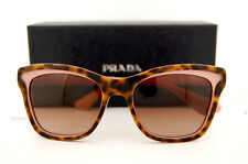 Brand New Prada Sunglasses 16P 16PS MAL 1Z1 HAVANA/PINK for Women 100% Authentic