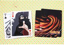NARUTO Akatsuki Itachi Sasuke Hidan Kakashi Gaara Hinata Sakura Poker cards