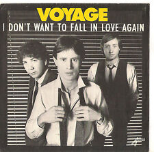 VOYAGE - I DON'T WANT TO FALL IN LOVE AGAIN - SOLO COPERTINA - ONLY COVER -  EX+