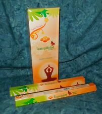 Tranquility Natural 40 Incense Sticks NEW Sealed SAC Brand Spa Series Grounding