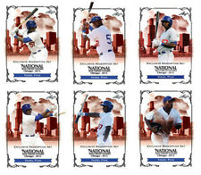 YASIEL PUIG 2013 Chicago National Sports Convention - 6 Card Leaf Redemption SET