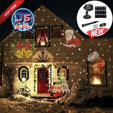 Laser Projector Light 12 Replaceable Pattern indoor/outdoor Xmas Holiday Party