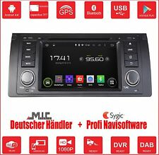 Autoradio Naviceiver ANDROID 4.4 A9 WIFI BT GPS Navi f. BMW 5 X5 E39 E53 M5