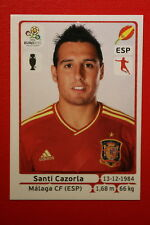 Panini EURO 2012 N. 300 ESPANA CAZORLA NEW With BLACK BACK TOPMINT!!