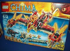 LEGO 70146 Flying Phoenix Fire Temple LEGENDS of CHIMA Retired NISB