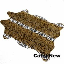 Catchnew Leopard Animal printed Hide Rug Home Mat 3.6x2.5 Feet Faux Carpet