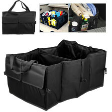 Foldable Car Auto Back Rear Trunk Seat Big Storage Bag Pocket Cage Organizer New