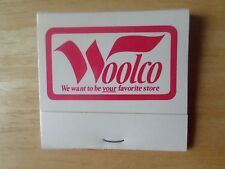 Vintage Woolco Store Full Matchbook Texas Store Locations Woolworth