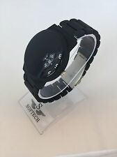 Black Designer Mens Watches Men Fashion Softech Quartz Wrist Watch Mans Vintage