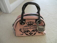 Juicy Couture velour pink and brown purse