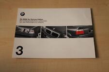 68769) BMW 3er Reihe E36 Exclusiv Edition Prospekt 02/1998