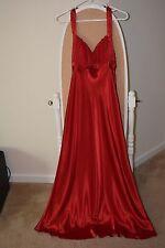 Eureka USA Women Long Red Wedding, Prom, Formal Dress Size Large