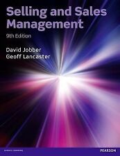 Selling and Sales Management by David Jobber  Geoffrey Lancaster 2014 Paperback