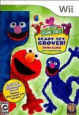 Sesame Street: Ready, Set, Grover USED SEALED (Nintendo Wii, 2011)