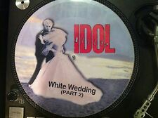 "BILLY IDOL - WHITE WEDDING Rare 12"" Promo Japan Picture Disc (Vital Idol LP)  NM"
