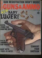 GUNS AND AMMO MAGAZINE - August 1968