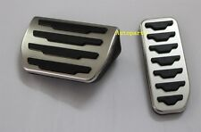 Range Rover Evoque Stainless Steel Sport Fuel Brake Pedal Pad Covers 2012 2013