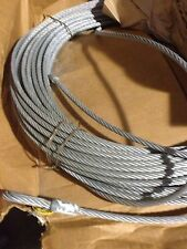 """Reliance 6070-200 Horizontal Lifeline 200' x 3/8"""" 7x19 Galvanized XIPS Wire Rope"""