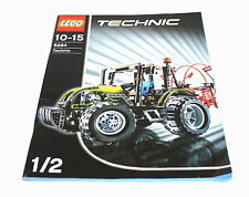 LEGO TECHNIC 8284 1/2 - 2006 CONSTRUCTION INSTRUCTION MANUAL ONLY NO PARTS!!