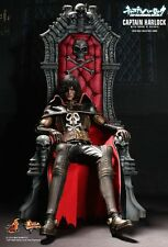 Sideshow Hot Toys Space Pirate Captain Harlock with Throne of Arcadia