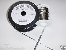 500 ft / 50 ft  Tabbing +bus wire(152 m /15.2 m)  diy solar cells solar panels