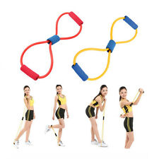 Fitness Equipment Elastic Resistance Band Tube Workout Exercise Band For Yoga~#N