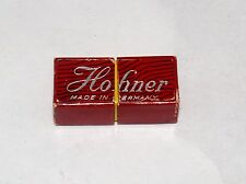 VINTAGE MINIATURE HOHNER LITTLE LADY HARMONICA IN CASE BOX MUSICAL INSTRUMENT