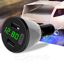 Universal Dual USB 5 Amp Rapid Car Charger Adapter For iPhone And Android Device