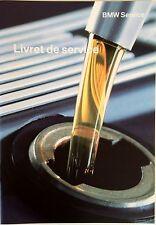 BMW Original Serviceheft Livret de service french français 5er E60 E61 X5 E70